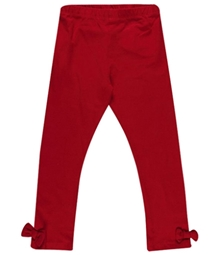 Nauti Nati - Plain Maroon Legging With Bow