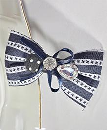 Sugarcart Bow Hair Clip - Blue