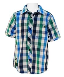 Nauti Nati - Half Sleeves Checked Shirt