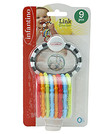 Infantino Link Ems Set Multicolour - 9 Pieces