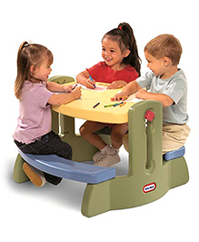 Little Tikes Adjust N Draw Table