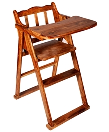 Luft Creations - Wooden High Chair