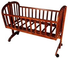 Luft Creations - Wooden Baby Cradle