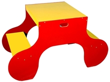 Luft Creation - Twin Activity Table Chair