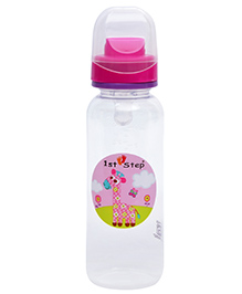 1st Step Anti - Colic Feeding Bottle Pink - 250 Ml