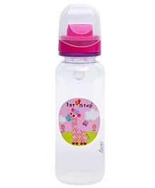 1st Step Anti - Colic Feeding Bottle Pink - 250 Ml