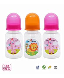 1st Step Anti Colic Feeding Bottle Pink -  250 Ml