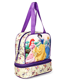 Disney Snow White & Ariel Lunch Box Bag Multicolor - Height 10 Inches
