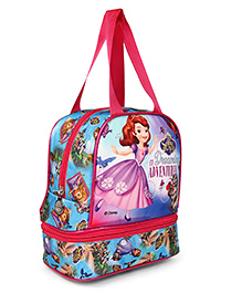 Sofia The First Of Dreaming Adventure Lunch Box Bag Multicolor - Height 10 Inches