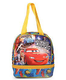 Disney Pixar Cars Table Top Jump In Lunch Bag Blue - Height 10 Inches