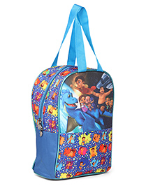 Chhota Bheem & Chutki Lunch Box Bag Blue - Height 13 Inches