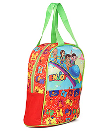 Chhota Bheem & Friends Lunch Box Bag Red - Height 13 Inches