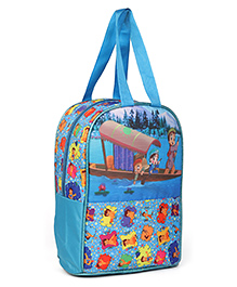 Chhota Bheem Lunch Box Bag Blue - Height 13 Inches