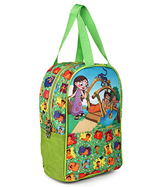 Chhota Bheem & Chutki Lunch Box Bag Multicolor - Height 10 Inches