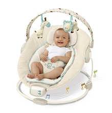 Bright Starts Cradling Bouncer - Biscotti