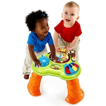 Bright Starts Safari Sounds Musical Learning Table - Green