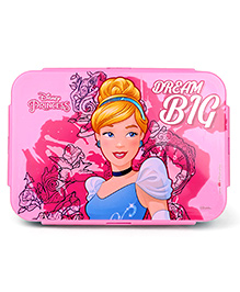 Disney Cinderella Insulated Lunch Box With Stainless Steel Inside - Pink
