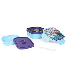 Disney Frozen Insulated Lunch Box With Stainless Steel Inside - Blue