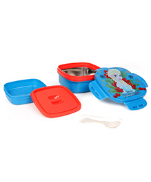 Disney Frozen Insulated Lunch Box With Stainless Steel Inside - Blue & Red