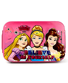 Disney Princess Insulated Lunch Box With Stainless Steel Inside - Pink