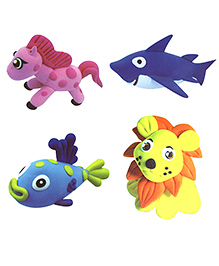 Party Propz Clay Set Multicolour - Pack Of 4
