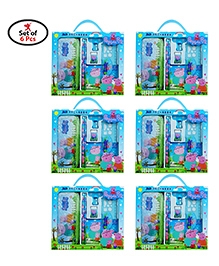 Party Propz Peppa Pig Stationary Set Blue - Pack Of 6 Sets