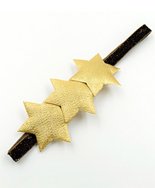Magic Needles Headband Star Appliques - Golden