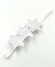 Magic Needles Headband Star Appliques - Silver