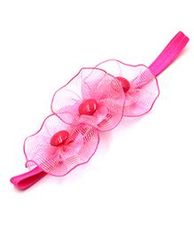 Magic Needles Elastic Headband - Pink