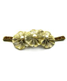 Magic Needles Elastic Headband - Gold
