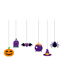 Party Propz Halloween String Hanging Multicolour - 6 Pieces