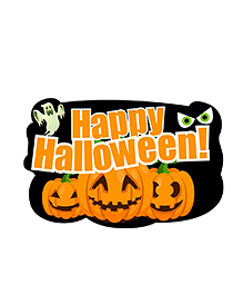 Party Propz Halloween Theme Cutout Black - Height 61 Cm