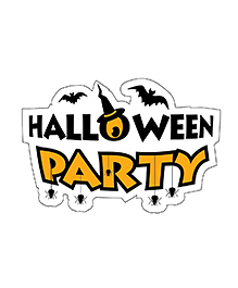 Party Propz Halloween Theme Cutout Yellow - Height 61 Cm