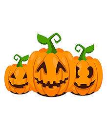 Party Propz Halloween Cutout Pack Of 3 - Yellow