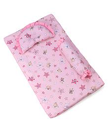 Baby Bedding Set Star Print - Pink