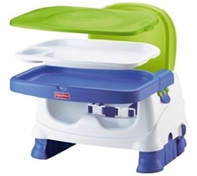 Fisher Price - Healthy Care Delux Booster Seat Multi Colour