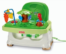 Fisher Price - Rain Forest Healthy Care Booster Seat Green