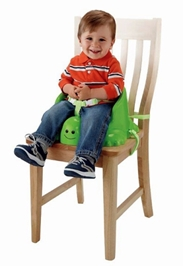 Fisher Price - Table Time Turtle Booster Green