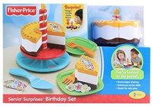 Fisher Price - Serving Surprise Birthday Set