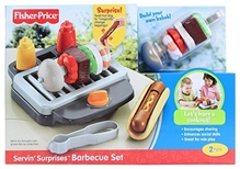 Fisher- Price Servin' Surprises Barbeque Set