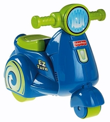 Fisher Price - Ez Turn Scooter 4 LB