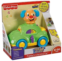 Fisher Price - Laugh And Learn Puppy's Learning Car