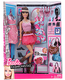 Barbie Fashionista Doll 3 Years+, 29.5 cm, Bring home the ultimate fashion icon for your little...