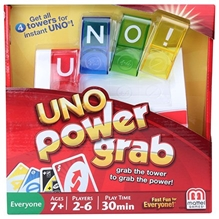 Mattel - Uno Power Grab Game