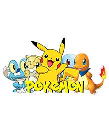 Party Propz Pokemon Theme Cutout Yellow - Height 61 Cm