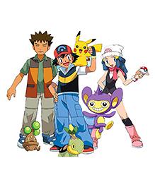 Party Propz Pokemon Theme Cutout Multicolour - Height 61 Cm