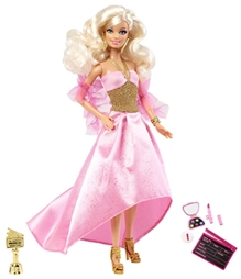 Barbie I Cab Be Actress Doll Pink 29 cm 36 Months+, Now girls can explore the role of actress with Barbie