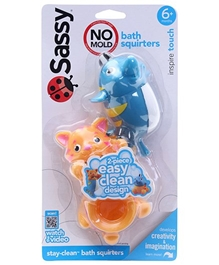 Sassy - Stay Clean Squirts Dolphin And Cat