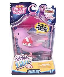 Little Live Pets Light Up Songbird - Pink