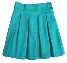 Campana - Plain Pleated Skirt